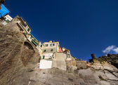 Vernazza glimpse from below — Stock Photo