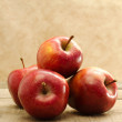 Stock Photo: Red stark apples