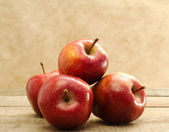 Red stark apples — Stock Photo