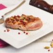 Stock Photo: Grilled pork fillet with spices