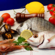 Stock Photo: Seafood selection