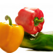 Colorful fresh peppers — Foto de Stock