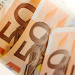 Stock Photo: Fifty euro banknote