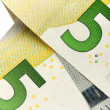 Five euro banknote — Stock Photo
