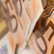 Fifty euro banknote — Stock Photo