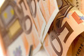 Fifty euro banknote — Foto de Stock