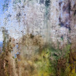 Stockfoto: Corroded glass painted