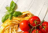Italian food background for restaurant menu — Stock Photo