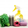 Stock Photo: Housework tools