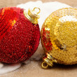 Christmas bauble — Stock Photo