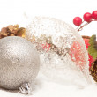 Christmas decorations detail — Stock Photo