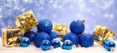 Blue magic christmas — Photo