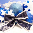 Blue christmas concept — Stock Photo