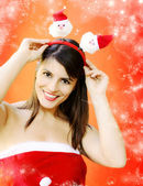 FUNNY CHRISTMAS — Stockfoto