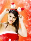 Natal engraçado — Foto Stock