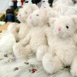 Stock Photo: Perfumes teddy bear