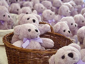 Perfumed teddy bear — Stock Photo