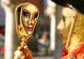 Benátský karneval — Stock fotografie