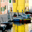 burano glimpse — Stock Photo