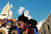 Benátské masky — Stock fotografie