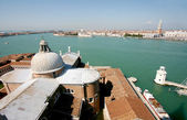 Venice view from San Giorgio bell tower — 图库照片