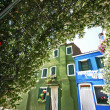 Burano glimpse in a sunny day — Stock Photo