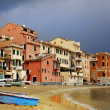 Silence bay detail to Sestri Levante — Stockfoto #40065603