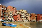 Silence bay detail to Sestri Levante — Stock Photo