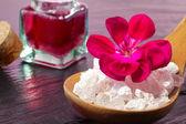 Pink spa detail — Stock Photo