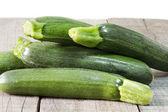 Raw zucchini — Стоковое фото