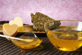 Warm honey wax — Stock Photo