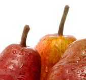 RED WILLIAMS PEAR detail — Stock Photo