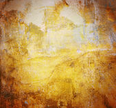 Painted rusty golden  background — Stock Photo