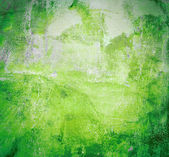 Painted green background — Stock Photo