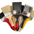 Foto Stock: Paint Brushes