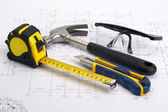 Home tools Construction Concept — Stock Photo