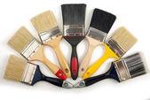 Pincéis de pintura — Foto Stock