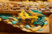 Tibetan Wooden Dragon — Stock Photo