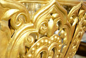 Tibetan Gilded Ornaments — Stock Photo