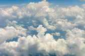 Clouds above the sky — Stock Photo