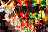 Krásné lucerny festival v šanghaj — Stock fotografie