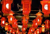 красные фонари — Стоковое фото