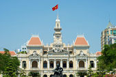 Ho Chi Minh Building in Vietnam — Stockfoto