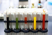 Colorful Laboratory Test tubes — Foto de Stock
