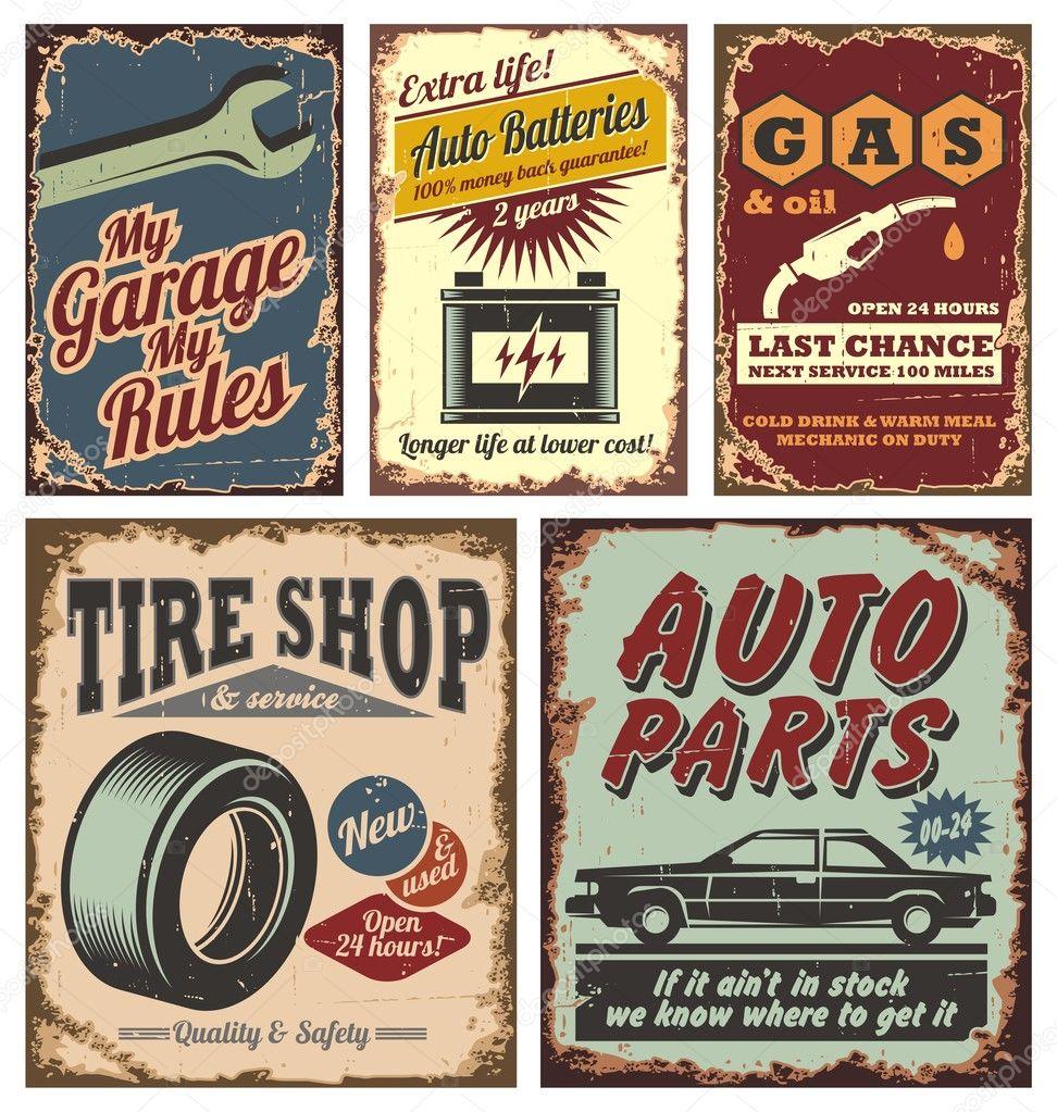 JL Innov - Vintage Signs/Posters - 361-404 - Track