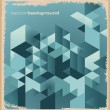 Abstract retro background - Stok Vektör