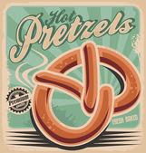 Pretzels — Stock Vector