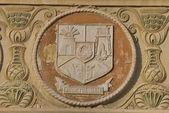 Escudo del condado, sibiu — Foto de Stock