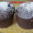 My tasty homemade muffins filled with apricot jam - Lizenzfreies Foto