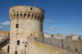 Donjon of the fortress — Stock Photo